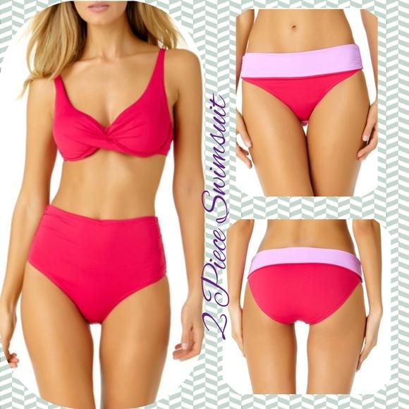 4131b515aa Liz Claiborne Swim | 2pc Convertible Bottoms Bikini | Poshmark